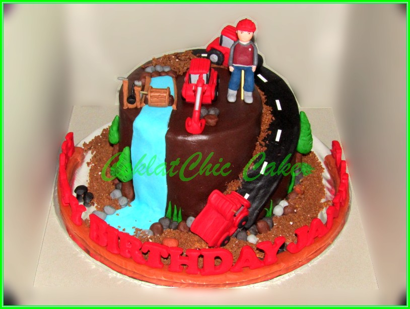 Cake Construction JANWAR 15cm