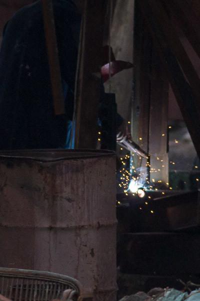 welding a keel