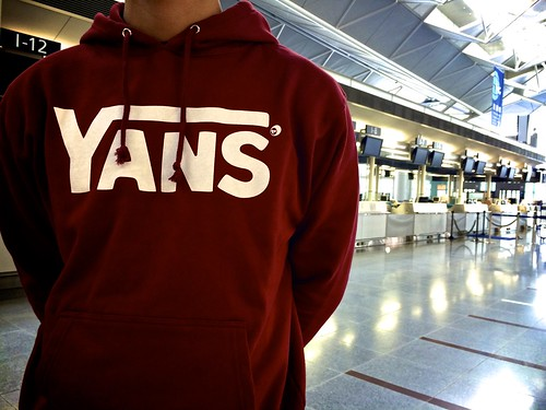 YANS Sweat Pullover Parka