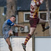 Tynedale's Daniel Taylor gets the kick past Elliot Knight-5829