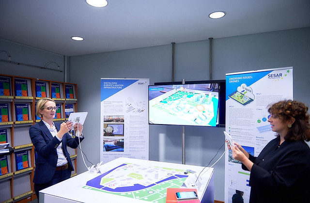 SESAR mini showcase at Eurocontrol