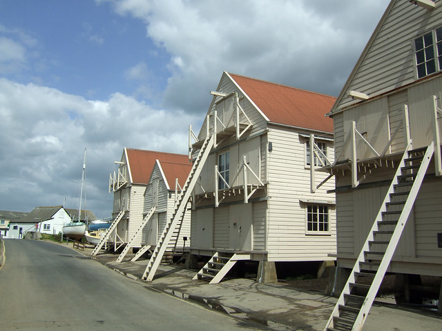 Old sail lofts at Tollesbury