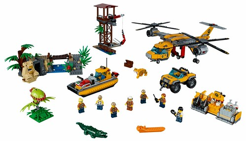 LEGO City Jungle 60162 Jungle Air Drop Helicopter 000
