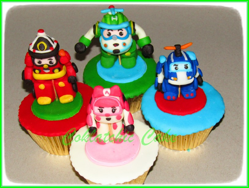 Cupcake Robocar Poli