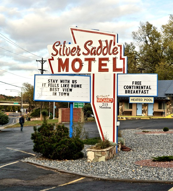 Silver Saddle Motel - Manitou Springs,Colorado