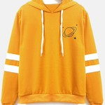funclothing: Yellow Hoodies & SweatshirtsLeft || Center…