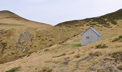 Randonnée tour de la Calabasse, Ariege, Cabane pastorale du Col de Terme