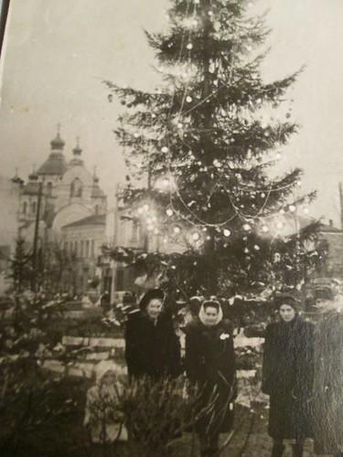 Ялинка Ривне 1953 автор Ольга Шорнікова