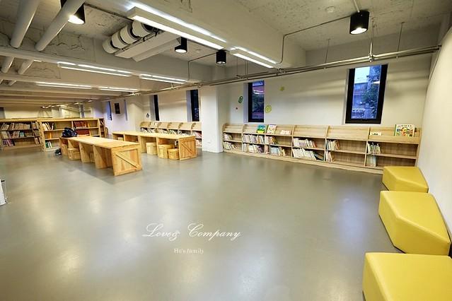 【台北親子免費景點】新北市立圖書館江子翠分館兒童室17