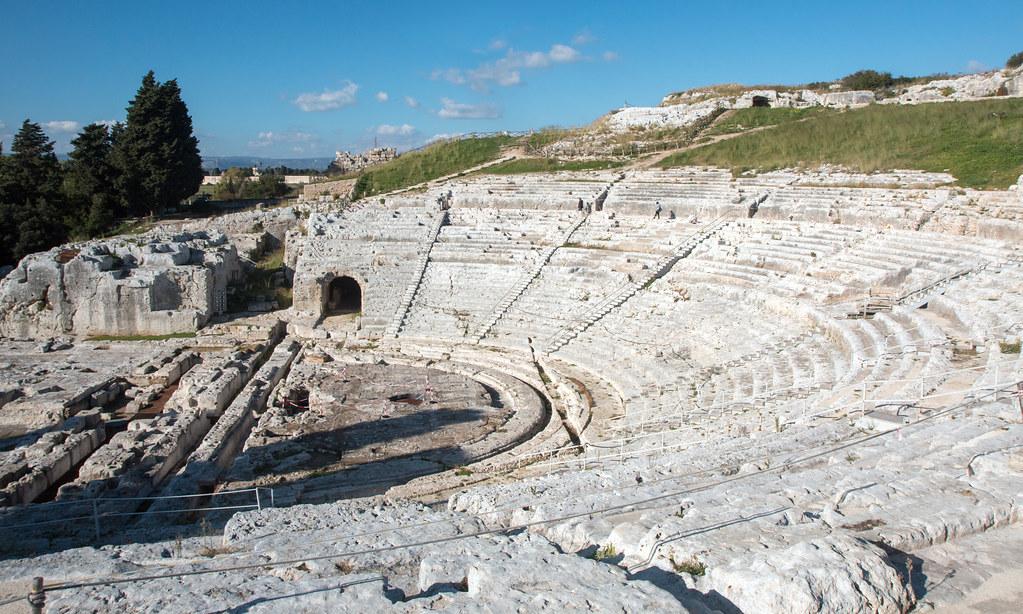 Greek amphitheatre, Siracusa