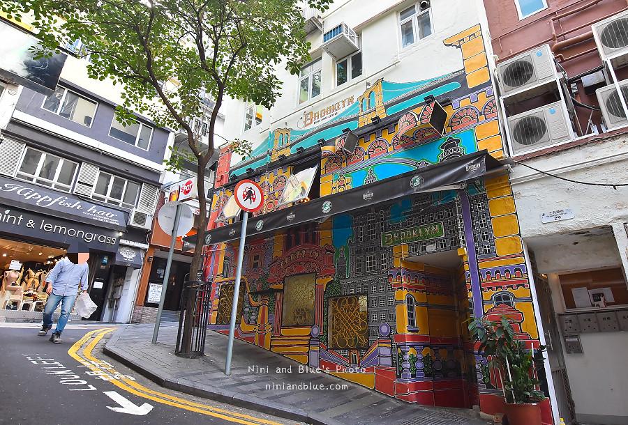 香港景點 舊城中環彩繪牆10