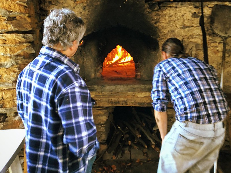 One Day at the Stone Oven House