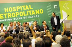 Prefeito Alexandre Kalil entrega o Hospital Metropolitano Doutor Célio de Castro em funcionamento total