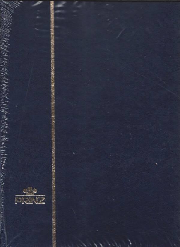 Album na známky PRINZ - A4 32 strán, modrý