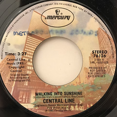 CENTARL LINE:WALKING INTO SUNSHINE(LABEL SIDE-A)