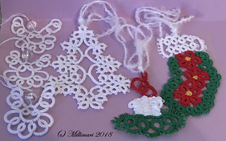 Tatting - a gift made by a friend's mother