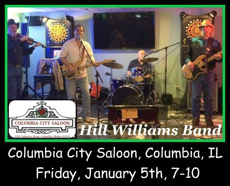 Hill Williams Band 1-5-18