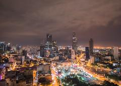 Ho Chi Minh city night
