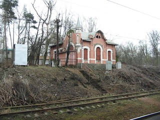 Pokrovskoye-Streshnevo abandoned station building