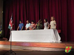 Mérito Academia - Alunos recebem homenagem