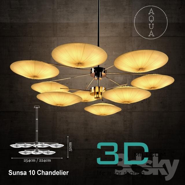 189  Ceiling light 189 3D Models Free Download - 3D Mili - Download