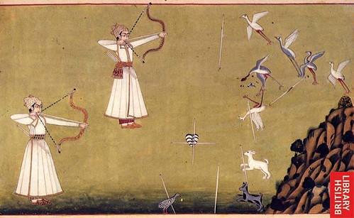 Yeleksiz-uçsuz okla kuş avı