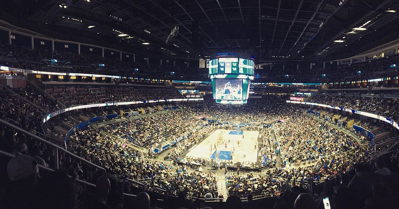 OKC @ Orlando Magic 11/29/17 at Amway Center, Orlando FL