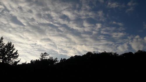clouds day sun sunset