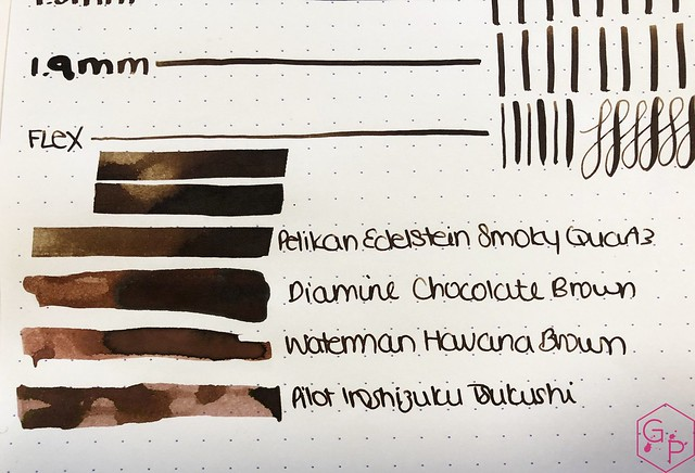 Ink Shot Review Pelikan Edelstein Smoky Quartz @Pelikan_World @AppelboomLaren @Pelikan_de 5