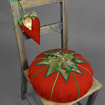 Arvada Center Costume Shop; A Year with Tomato and Strawberry; Item 149 - in SITu: Art Chair Auction