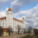 A cloudy afternoon at Bratislavský hrad