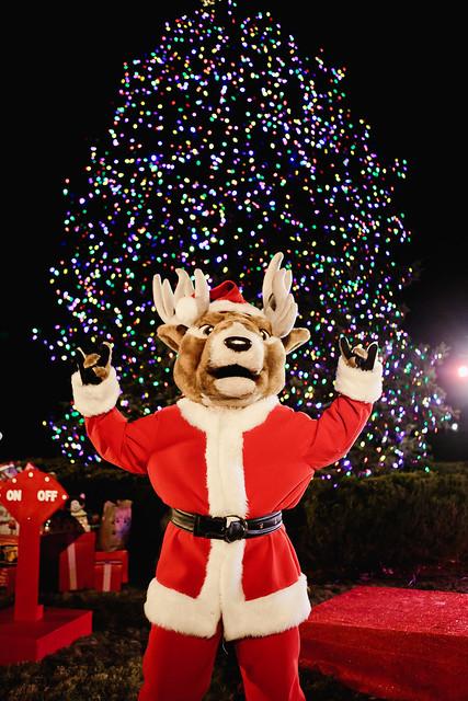 Fairfield University Tree Lighting Ceremony, Dec. 7, 2017
