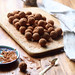 Vegan Chocolate Glazed Truffles