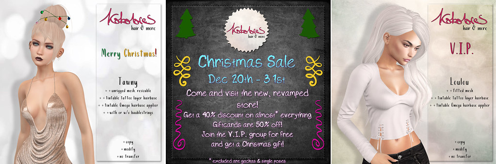 [KoKoLoReS] Christmas Sale & Gifts!