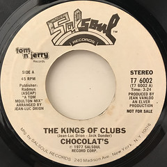 CHOCOLAT'S:THE KINGS OF CLUBS(LABEL SIDE-A)