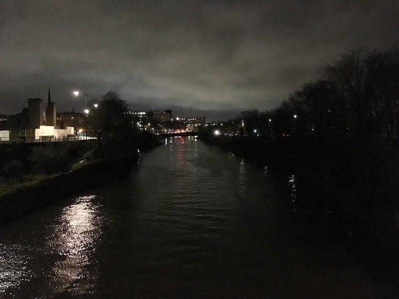 Gaol Ferry Bridge night