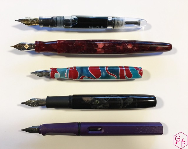 Ryan Krusac Studios Legend L14定制3d跨度和值表@FountainPenMan 3的评论