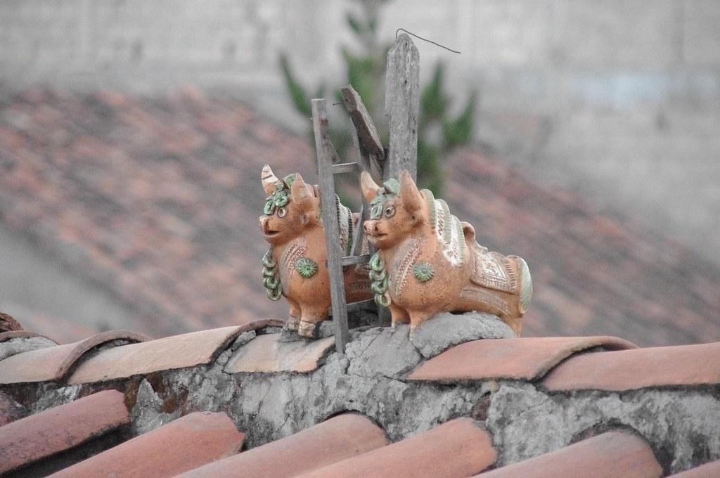 Tejados en Cusco
