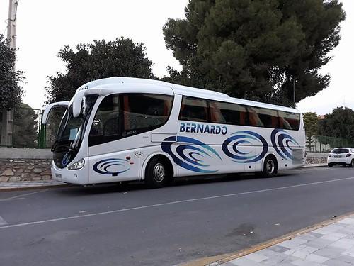 Autocares Bernardo, Irizar pb