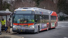 WMATA Metrobus 2015 New Flyer Xcelsior XDE60 #5472