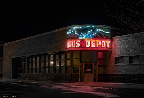 Greyhound Bus Depot- Pocatello, Idaho