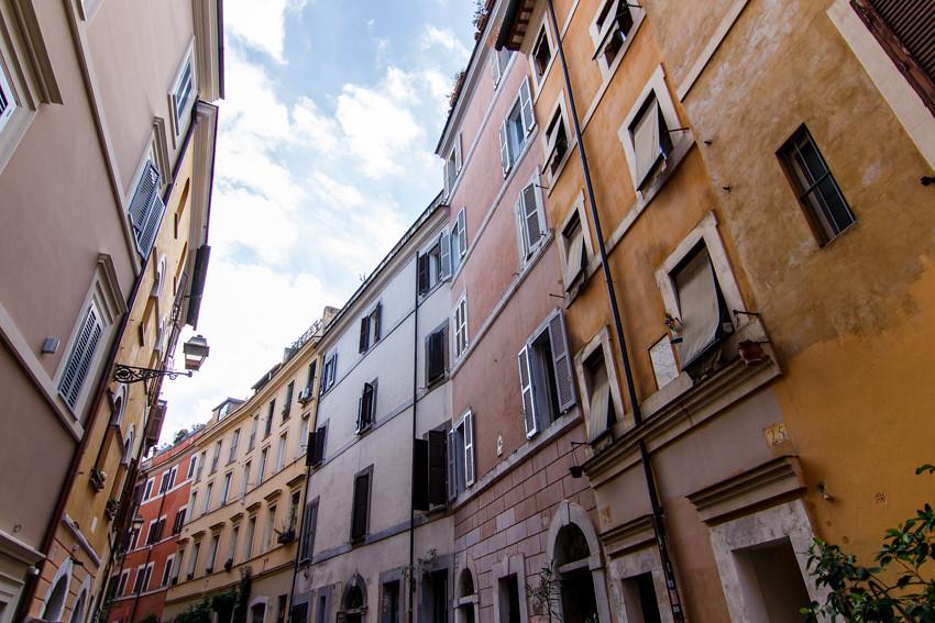 Trastevere Rome Italy November travelling-1746