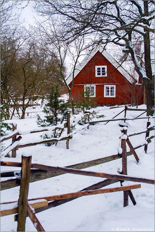 Skansen w Sztokholmie
