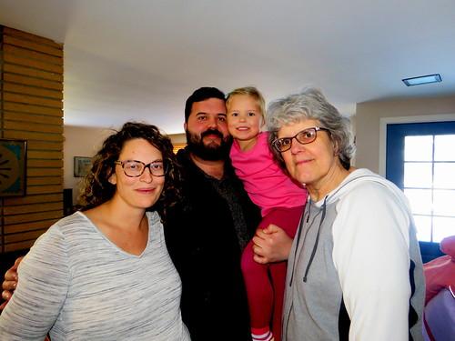 Emily, Caleb, Josie & Carol