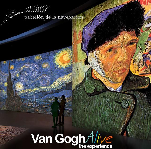 Cartel Van Gogh Alive