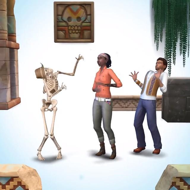 novo pacote de jogo pode realmente ser sobre aventuras