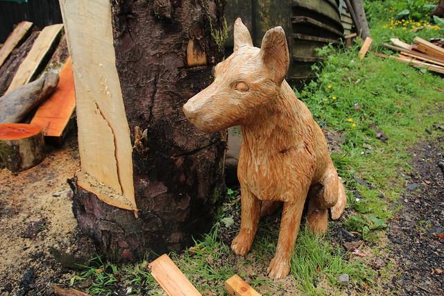 Arran wood sculptures