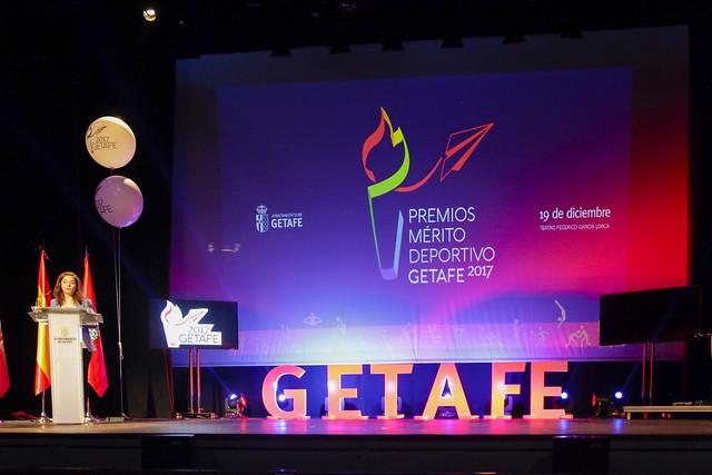 Gala de premios al mérito deportivo de Getafe