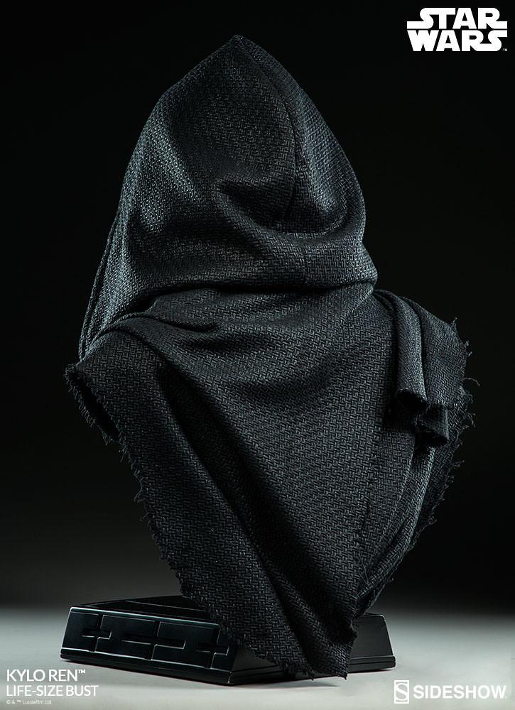 史上最顧人怨的胸像?! Sideshow Collectibles 星際大戰【凱羅·忍】Kylo Ren 1:1 比例半身胸像作品