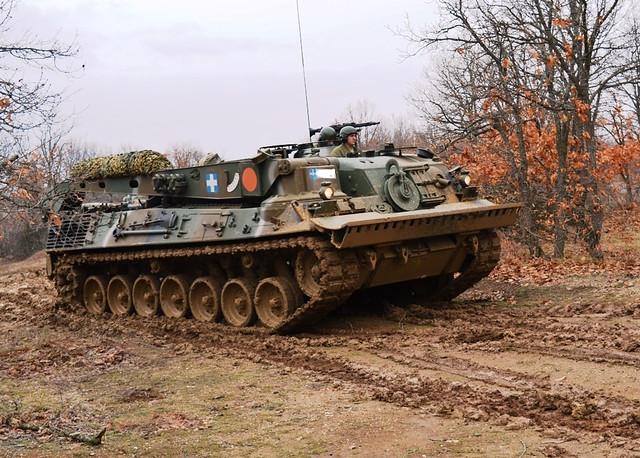 Τεθωρακισμένο όχημα περισυλλογής Bergepanzer Standard